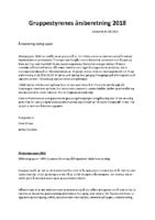 Gruppestyrenes årsberetning 2018