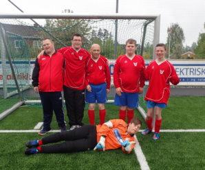 Fotballgruppen STOPPER trening i  Gjønneshallen fra og med torsdag 5. november