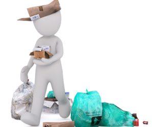 Søppelplukking – Håndball