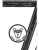 Jubileumsskrift VIVIL 10 år