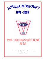 Jubileumsskrift VIVIL 25 år